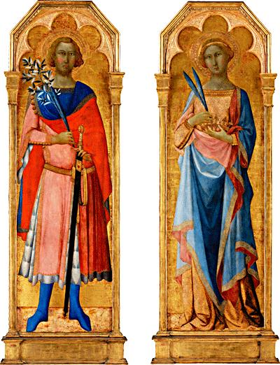 sveta Viktor in Korona - vojak in žena, mučenca