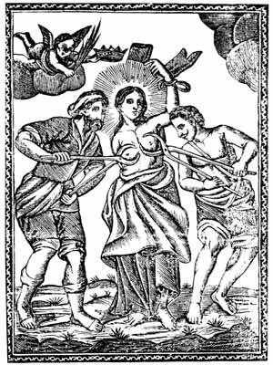 Sant'Agata - Stampa Antica